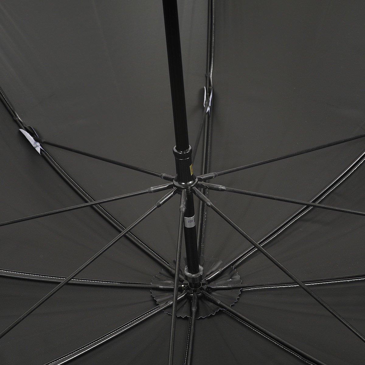 【一級遮光】シャンブレー オールシーズン 長傘 詳細画像5