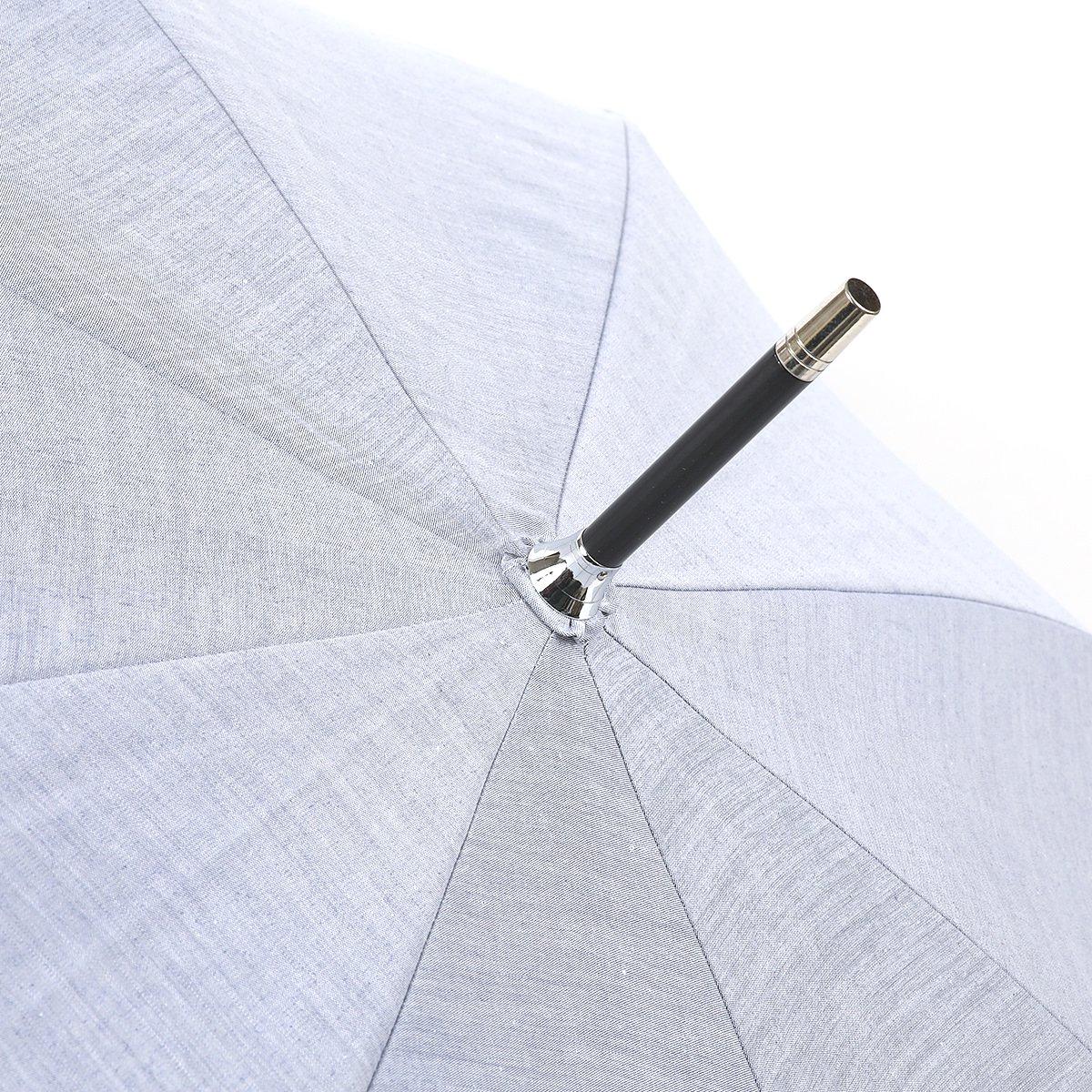 【一級遮光】シャンブレー オールシーズン 長傘 詳細画像6
