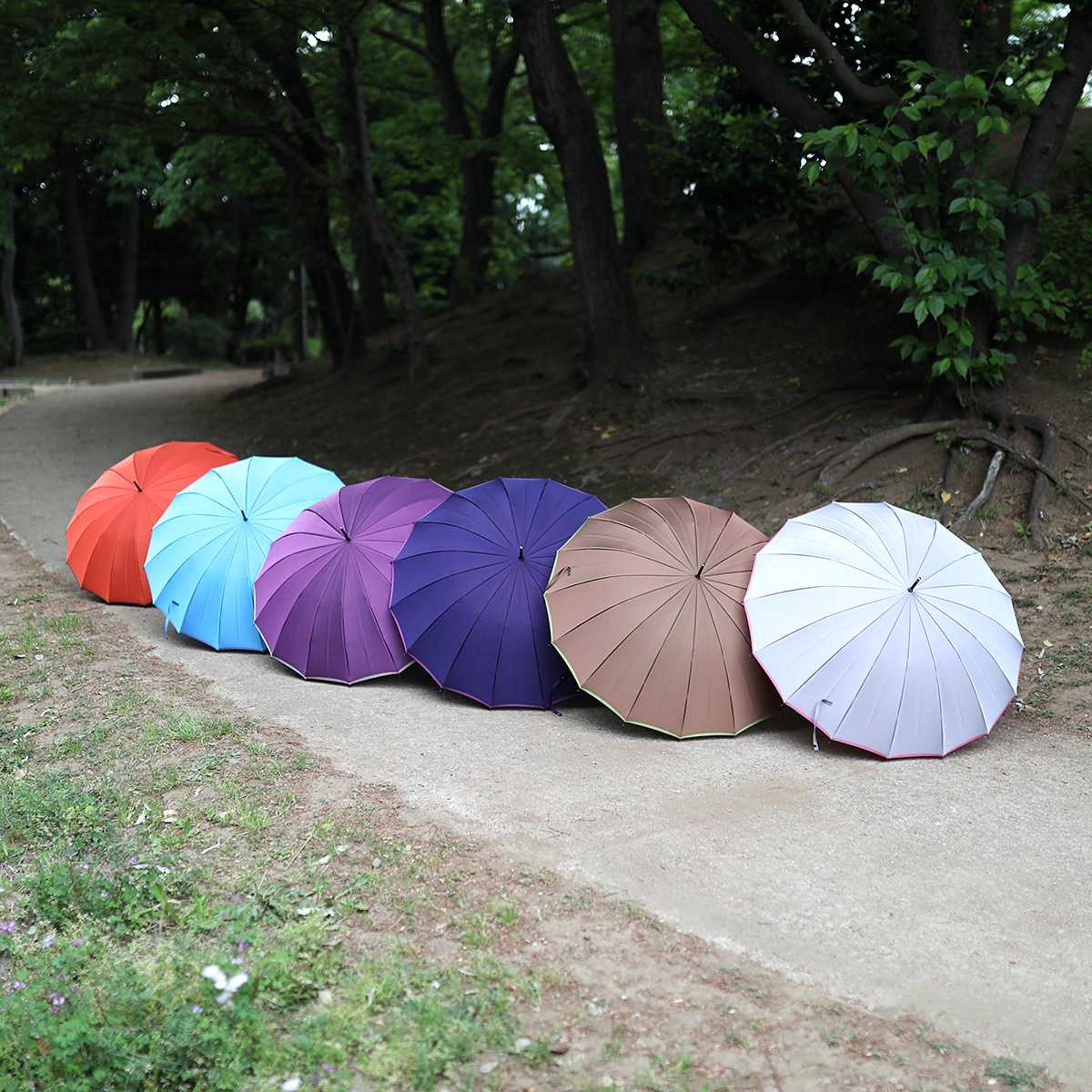 【予約】レディース 和〜なごみ〜 16本骨 長傘 詳細画像24