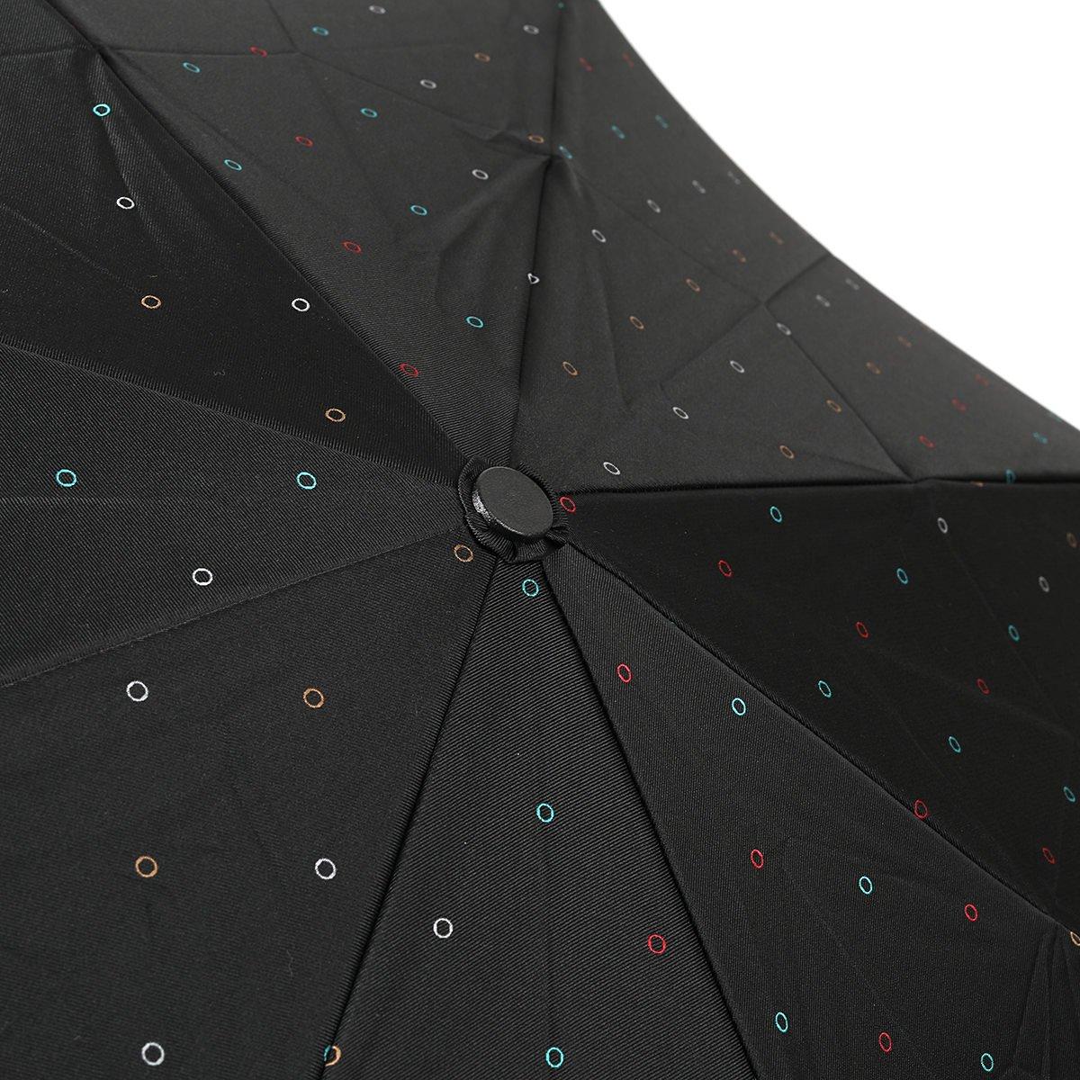 【セール】リング ドット  耐風骨 折りたたみ傘 詳細画像7