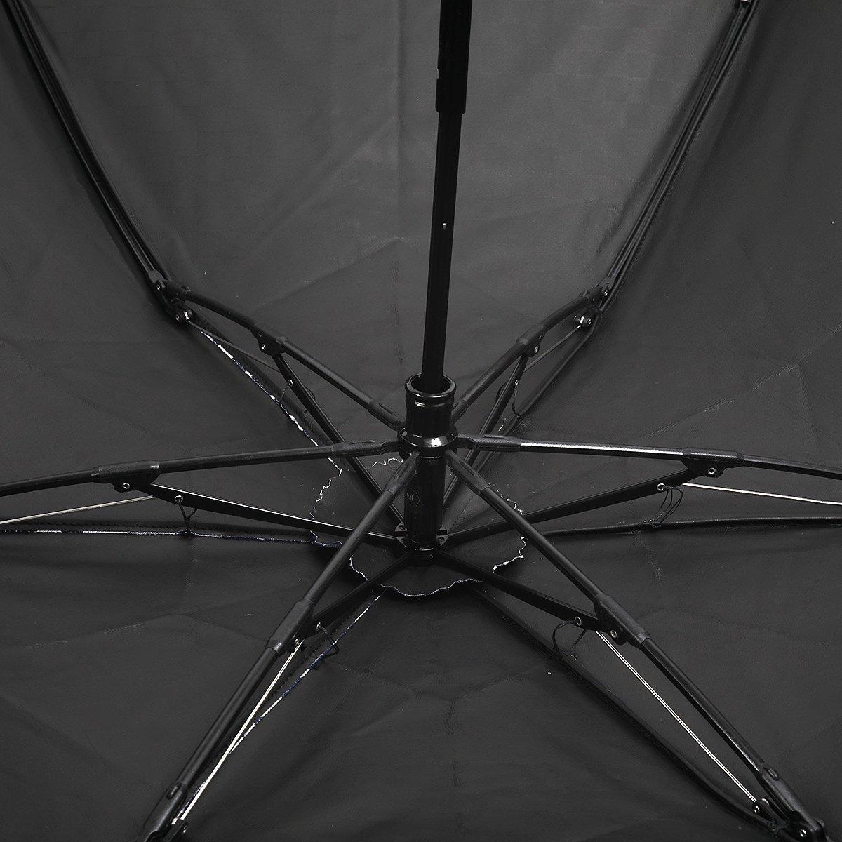 【一級遮光】チェッカー バンブー オールシーズン 折りたたみ 日傘 詳細画像7