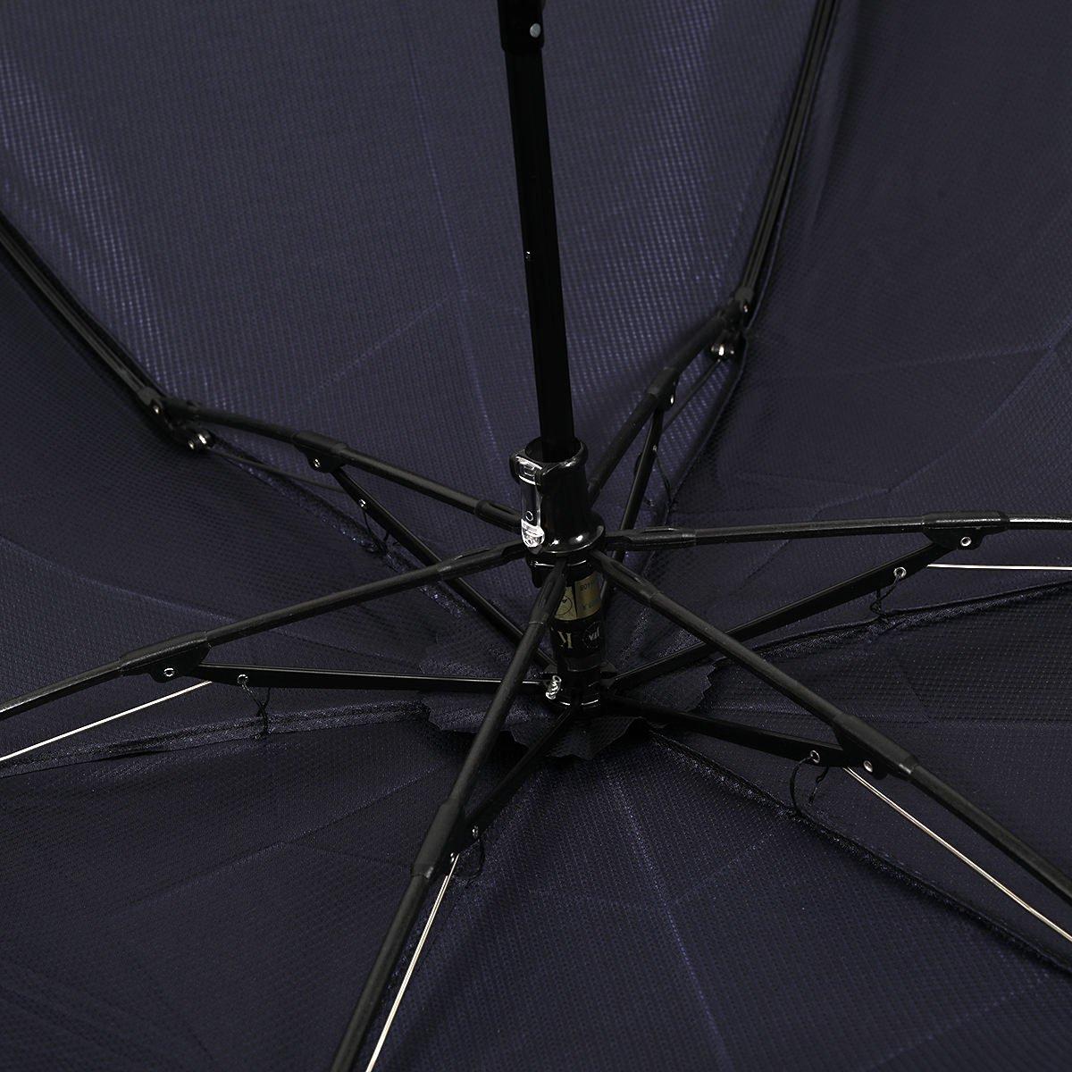 【セール】ミニ フラット ジャガード トビー 折りたたみ傘 詳細画像6