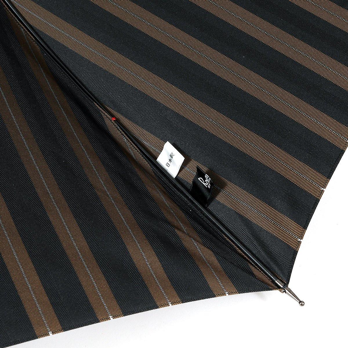 【セール】オルタネート ストライプ 長傘 詳細画像7