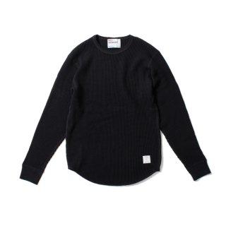 Waffle Shirt BLACK