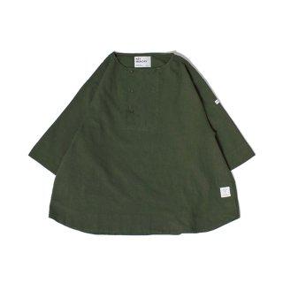 Henry neck shirts OLIVE