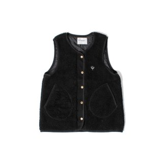 <img class='new_mark_img1' src='https://img.shop-pro.jp/img/new/icons1.gif' style='border:none;display:inline;margin:0px;padding:0px;width:auto;' />Boa collarless vest BLACK