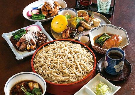 奥村本店 蕎麦御膳(2名様)