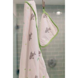 Shark Hooded Towel Set (フード付タオルセット)