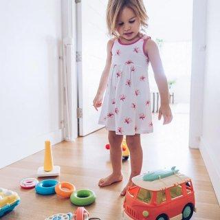 Plumeria Toddler Dress(プルメリア柄 トドラードレス)
