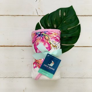 Hibiscus Hooded Towel Set (フード付タオルセット)