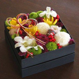 お正月を彩るお花【菊ちらしBOX】