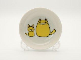 親子猫小皿  HY-03C