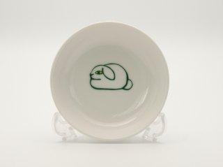 ロップうさぎ小皿  HY-03R2
