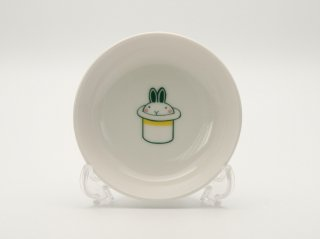 シルクハットうさ小皿  HY-03R3