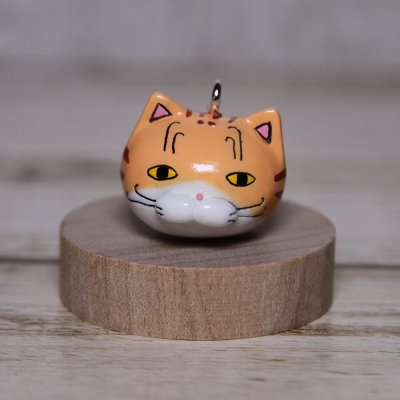 【猫 茶トラ】 ストラップ
