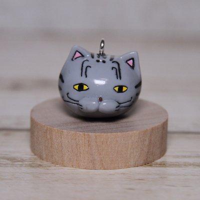 【猫 ゴロ】 ストラップ