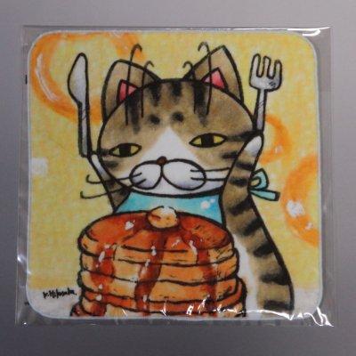 ハンドタオル【パンケーキ】  026-pancake