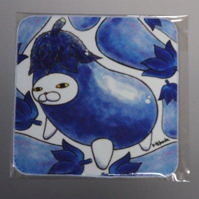 ハンドタオル【ナス】 021-nasu