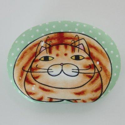 ≪アウトレット品≫ 猫ケース【茶トラ】 小物入れ