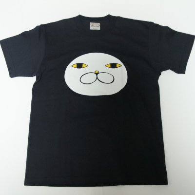 シルクプリントTシャツ【ナス】 ネイビー