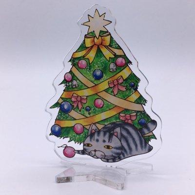 アクリルフィギュア クリスマスツリー