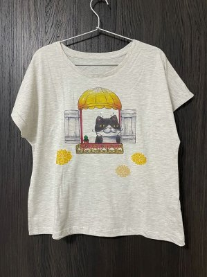 レディス ドルマンTシャツ【窓】