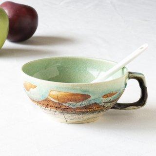 アーティスト スープカップ(グリーン)
