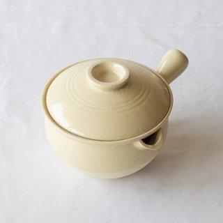 伊賀焼 行平鍋(クリーム)
