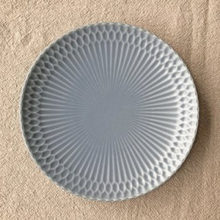 SAZANAMI -さざなみ- 16皿(ブルーグレー)