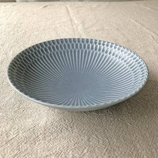 SAZANAMI -さざなみ- 13取り皿(ブルーグレー)