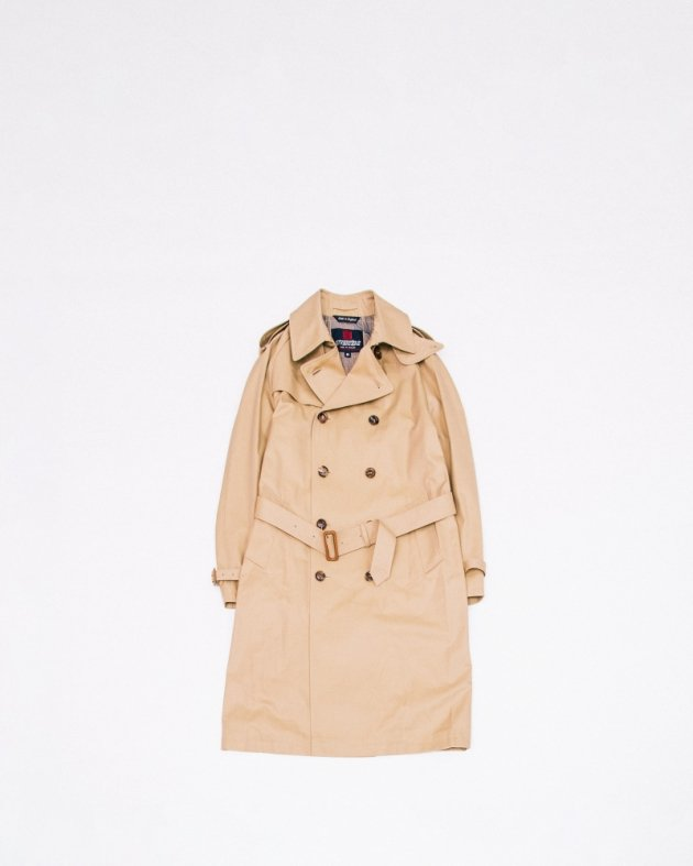 【INVERTERE】TRENCH COAT / BEIGE