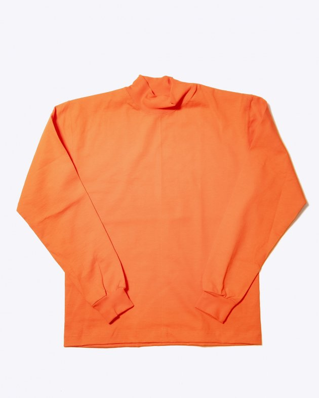 【CAMBER キャンバー】Unisex Heavyweight 8oz Long sleeve Mock Turtle T-shirt Made in the USA