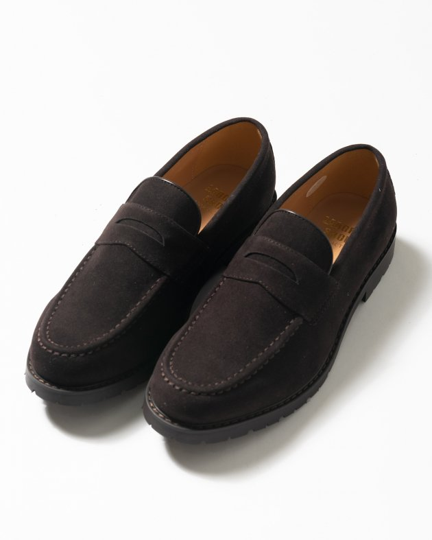 【LABORER SHOES】WATER REPELENT FAKE SUEDE LOAFER