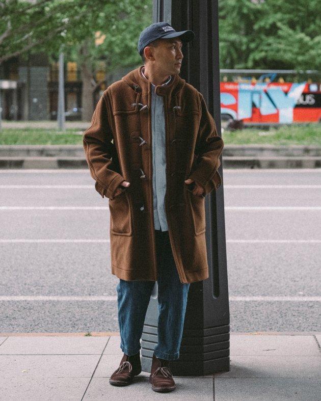 【INVERTERE】 LONG DUFFLE COAT / VICUNA
