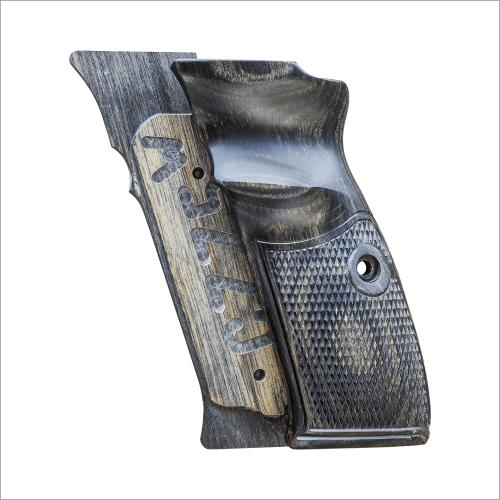 Cz75 アルタモント木製グリップ(チェッカー/ブラック)