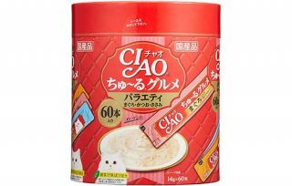 グルメ バラエティ14g×60本 /チャオ(CIAO) ちゅ〜る