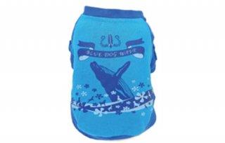 クジラ T シャツ ブルー 1号〜7号/ COCO&CHOCO