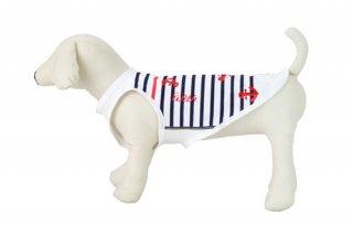 アクティブワン マリンボーダー/涼しくて安心UVカット小型犬用