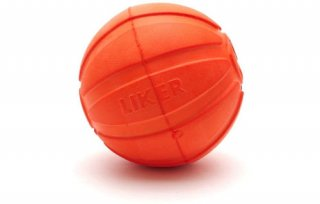 LIKER9 /魔法のボール/中型犬・大型犬用 orange 大/LIKER(ライカー)