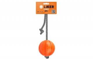 LIKER7 コード/魔法のボール/全犬種対象 orange 中/LIKER(ライカー)