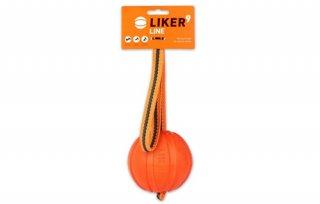 LIKER9 LINE/魔法のボール/全犬種対象 orange 大/LIKER(ライカー)
