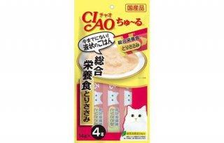 CIAO ちゅ〜る/総合栄養食 とりささみ
