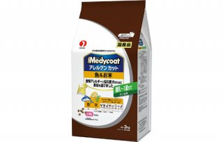 メディコート / ドッグフード / アレルゲンカット 魚&お米 離乳~1歳まで 子いぬ用 小粒