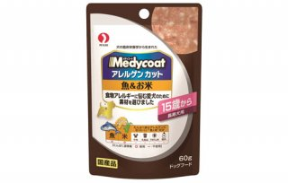 メディコート / ドッグフード /パウチ 魚&お米 15歳から長寿犬用