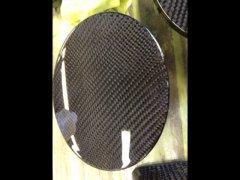 カーボン ユーノスロードスター NA6CE ブラックカーボン加工済み 純正給油口 フューエルリッド  image