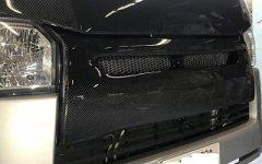 カーボン グリル 200系 4. 5 型 ハイエース 標準 ナロー バットフェイス グリル 純正交換タイプ    image