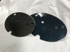 汎用 リアル カーボン プレート エンブレムサイズ 10X15cm image