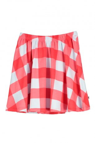 BEAU LOVES / Skirt / Gingham / Red
