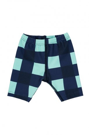 BEAU LOVES / Baby Swim Cycle Pants / Gingham / Navy