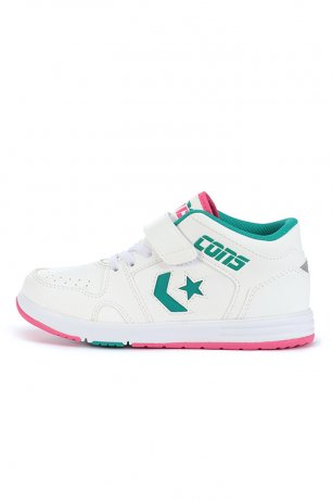 CONVERSE / KID'S WAVE CONQUEST MID / WHITE